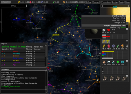 Multiplayer setup window in v0.3.16 showing new AI and Observer mode options.